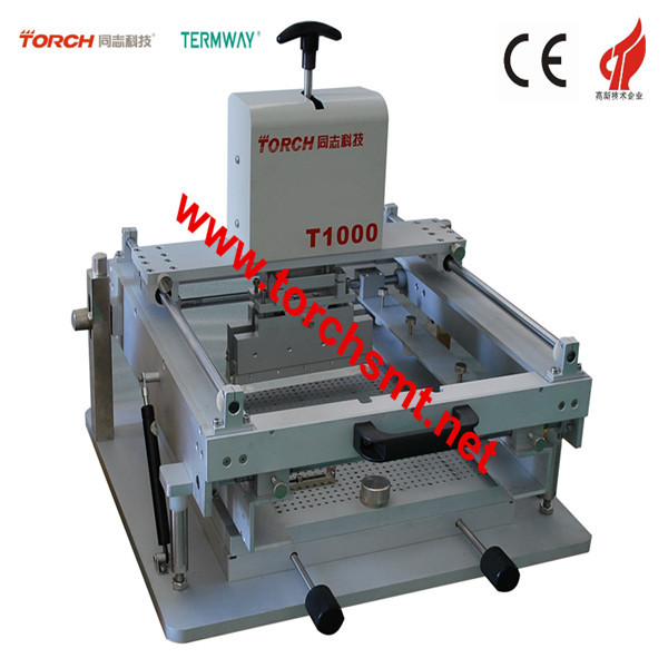 Manual high precision screen printing machine& Stencil Printer /SMDElectrical Equipment T1000 (TORCH)