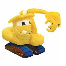 Plush truck toy soft excavator toys for kids