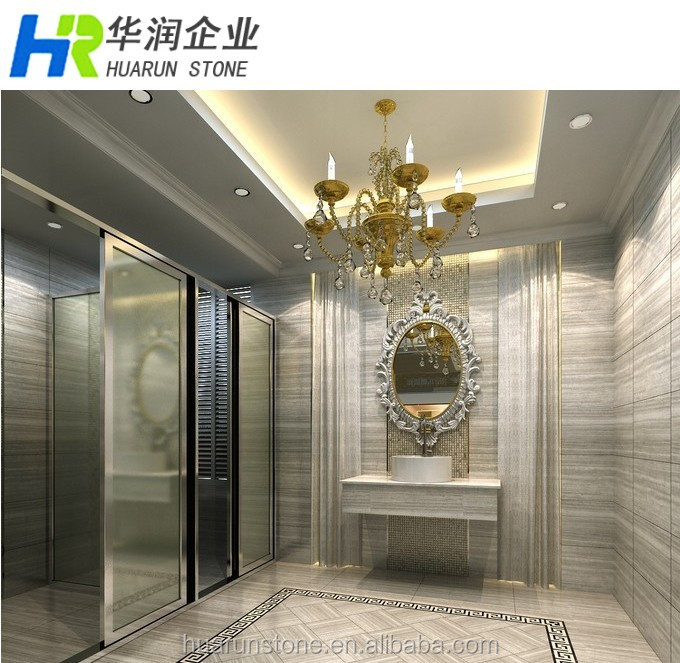 Grey Wooden Vein Marble, Chinese Natrual Marble Stone