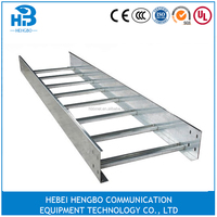 hot-dip galvanized welding super ladder type cable tray
