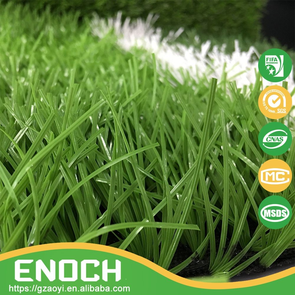 Eco-friendly 8800 Dtex Artificial Grass Turf For Football Pitch