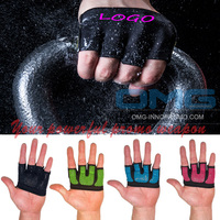 High Quality Workout Grips Weight Lifting Gloves GYM Half Finger Silicon Fitness Yoga Crossfit WODS Callus Guard Palm Protector