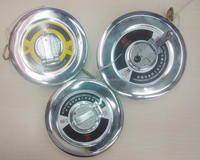 30m 50m Retractable stainless steel shell measuring tape