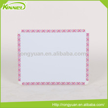 Printed plastic frame honeycomb board backing whiteboard for sale