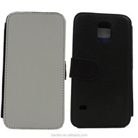 Sublimation PU leather filp phone case for Samsung Galaxy S5 I9600