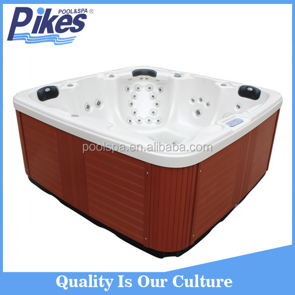Villa garden bathtub outdoor luxurious whirlpool spa tub