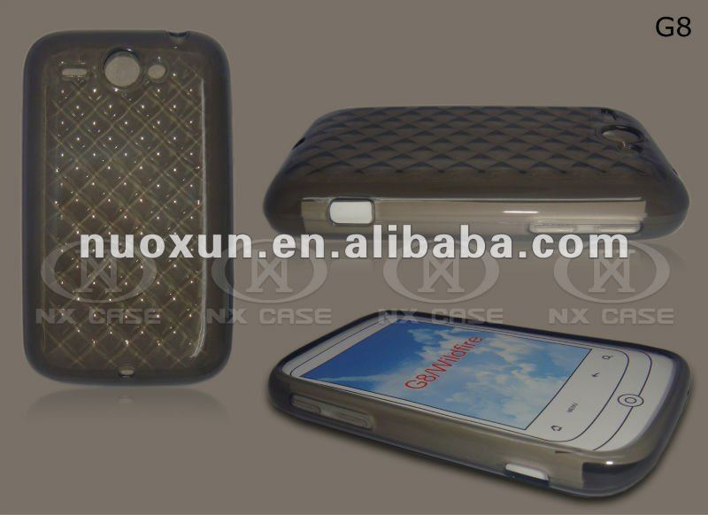2012 fashion design TPU mobile phone case for THC G8