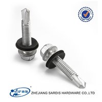 High Quality Cheap price Heavy Duty Hex Flange Head Self Drilling Screw Type 17 Long Drill Dacromet