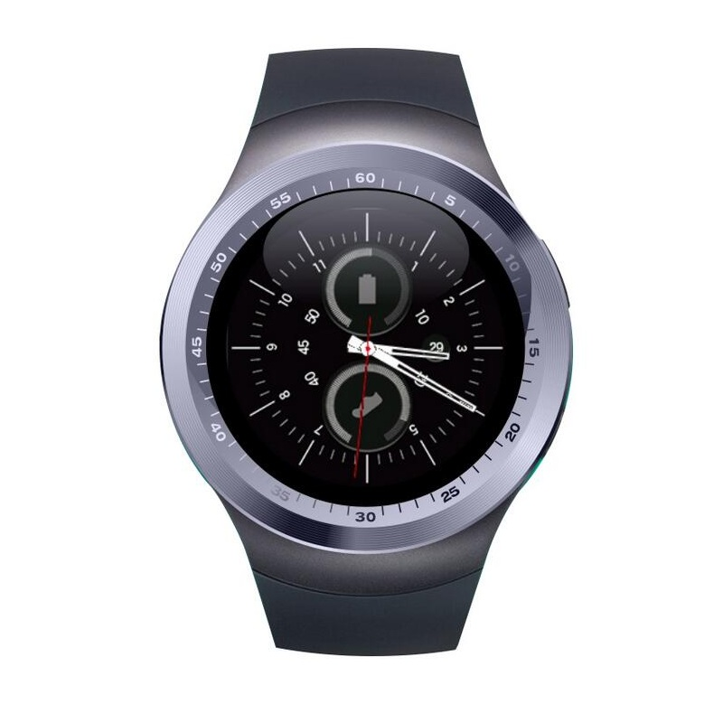 2017 Factory 1.22 inch android Smart Watch with heart rate monitor / bluetooth smartwatch Y1