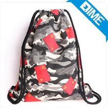 Brand New Custom camouflage Canvas Linen Drawstring Shopping Tote Bag