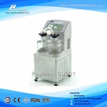 CE approved Medical Electrical aspirator Portable Phlegm Suction Machine/Unit/Pump