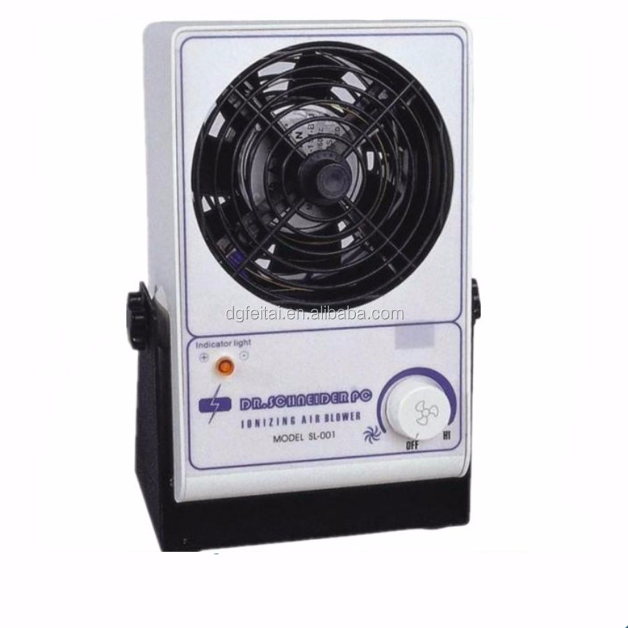 ESD SL- 001 of Horizontal Desktop ionizing fan,ionizer air blower