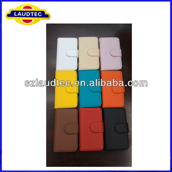 New Colorful Ultra Slim Magnetic Leather Cover For iPhone 5C Case