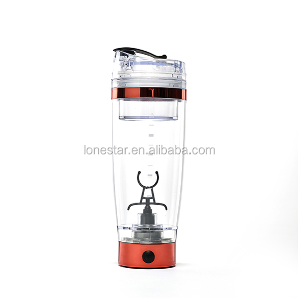 20oz/600ml custom printed power electric vortex protein shaker bottle/ portable plastic joyshaker bottles