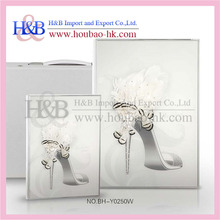 3d High-heeled Shoes Design a4 Latest Wedding Photo Album
