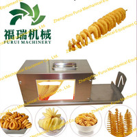 2014 Hot selling potato twist machine with high efficiency