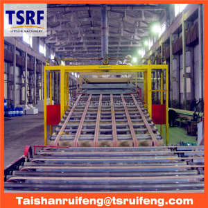automatic gypsum board production line for Russia