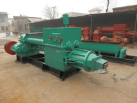 International brick machine industry, Liejiagou brand JZ300 non-vacuum clay brick extruder