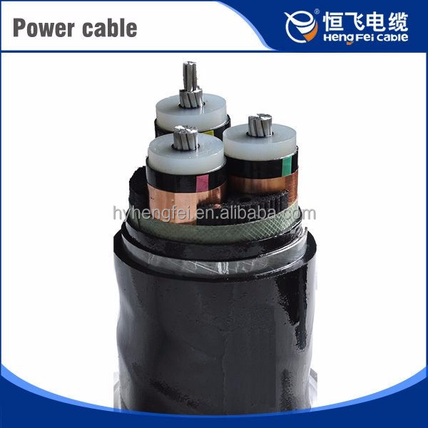 Low Smoke Zero Halogen Waterproof Alumininum Core 10 Kv Power Cable