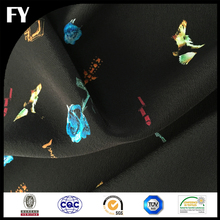 Factory Direct Digital Print Moire Silk Fabric