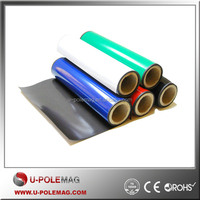 Flexible Anisotropic Rubber Magnet with Color PVC