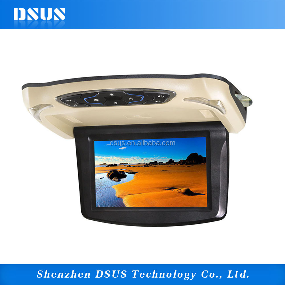 10.1 inch car roof mounted DVD player