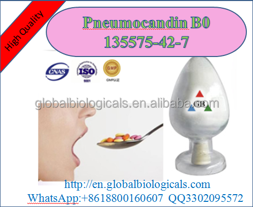 Medical Pharmaceutical high quality human Use white powder lipopeptide Antifungin Caspofungin Pneumocandin B0 135575-42-7