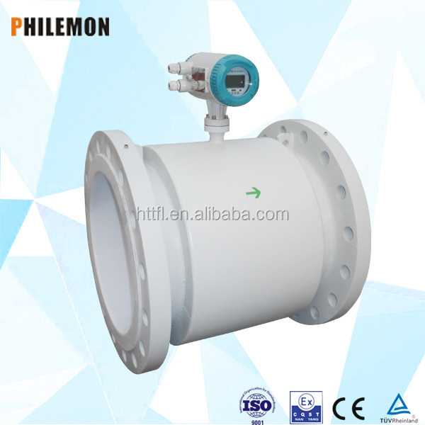 Intelligent magnet electronic open channel flow meter