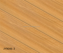 oak wood grain 12mm ac4 hdf matt / super high gloss laminate flooring