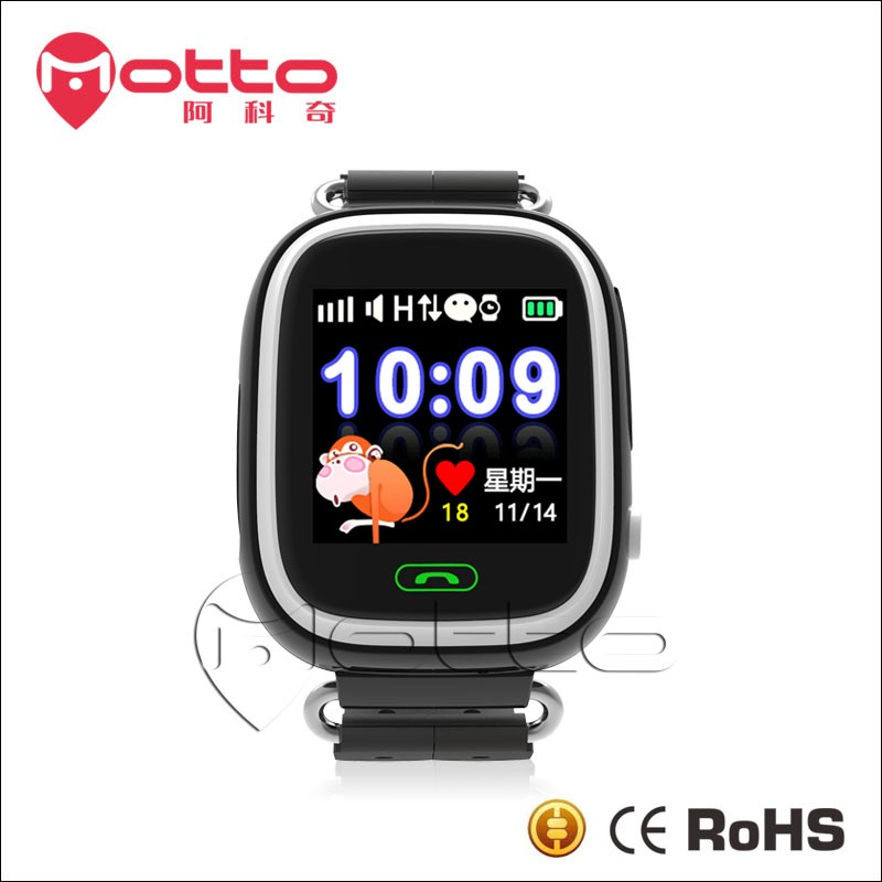 ce rohs smart watch touch screen mobile phone with Stable Function