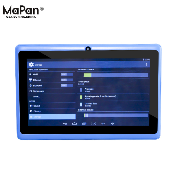 MaPan MX710F china manufacturer tablet pc, pc gamer with flashlight