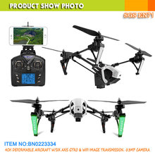 newest WL toys Q333 drone toys transforable wifi FPV drone