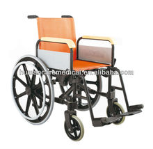 foldable colours wheelchairs for disabled