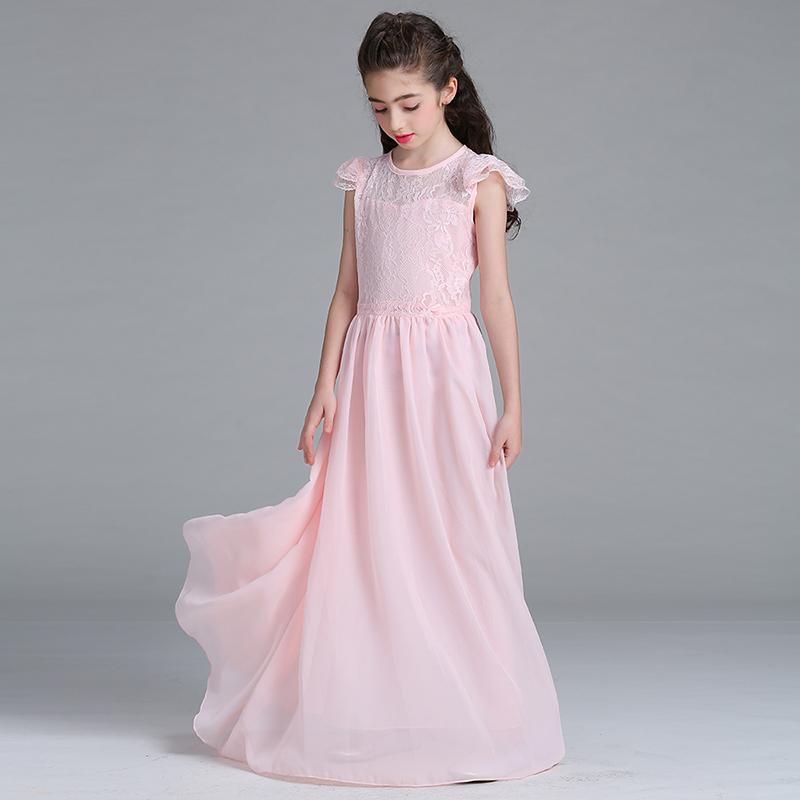 Длинные Платья Для Девочек Купить