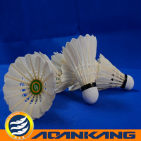 brand badminton ball/badminton shuttlecock feather/badminton cork