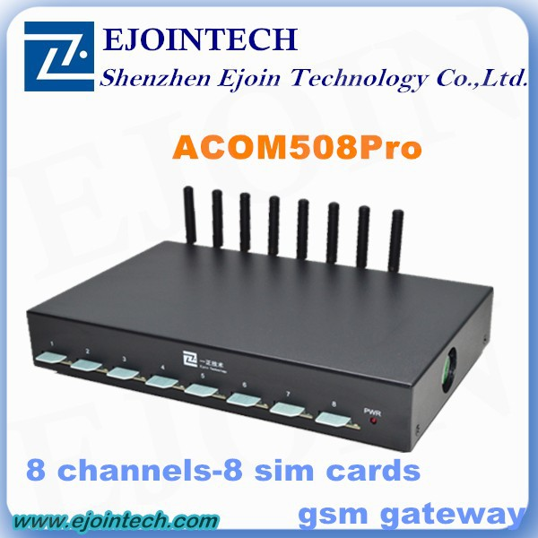 12 Months Warranty !! Ejoin 8 / 16 / 32 port voip gateway, bcm68380 home gateway unit gsm unlock box