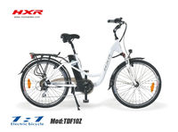 2013 new city electric bike with Samsung li-ion battery & 8FUN mid motor