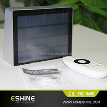 LI-ION rechargeable battery Solar 53 LED Outdoor Floodlight --- Automatically Working from Dusk to Dawn at Good Sunshine