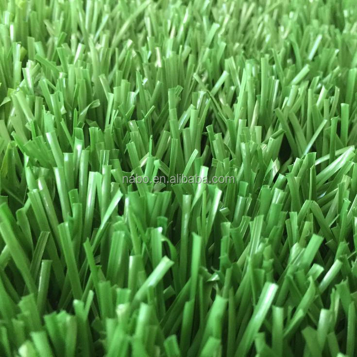 synthetic good grass back with drainage holes lawn lead free soccer turf