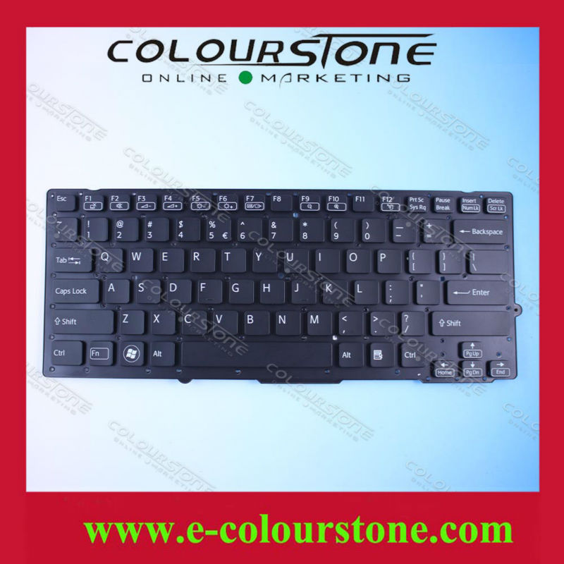 laptop keyboard For Sony Vaio VPC-SD VPC-SB black Without Frame US Layout