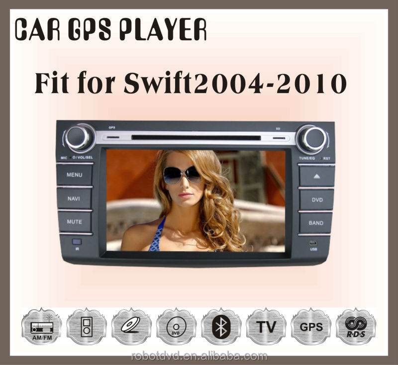 Fit for suzuki swift 2004-2010 car radio player gps navigation