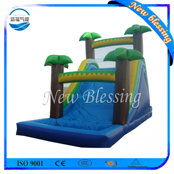 Adult Size Inflatable Slip And Water Slide For Adult