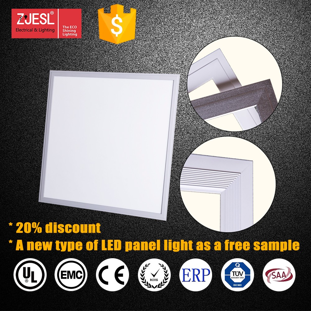 SAA TUV CE&RoHS led 60x60 ceiling panel lights 3years warranty Embedded with Clips