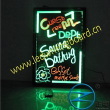 neon sign led writing board