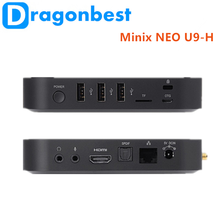 2017 hot style Minix NEO U9-H S912 2G 16G Amlogic S905 Quad-Core A53 Streaming dual wifi 2.4g / 5g Android 6.0 TV Box