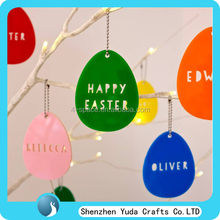 plexiglass decorative easter day celebration ornaments personalised acrylic Easter Carrot Hanging Decoration
