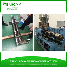pvc pe 24 inch drain pipe extruder making machine gsrden pipe [rpduction line overseas service
