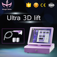 Hot Selling!!! Portable 3D HIFU skin lifting wrinkles remover fat burning machine For Salon Use