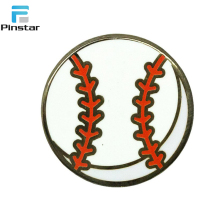 Sales Promotion Soccer Baseball Football Tenis Ball Pin Badge Sport