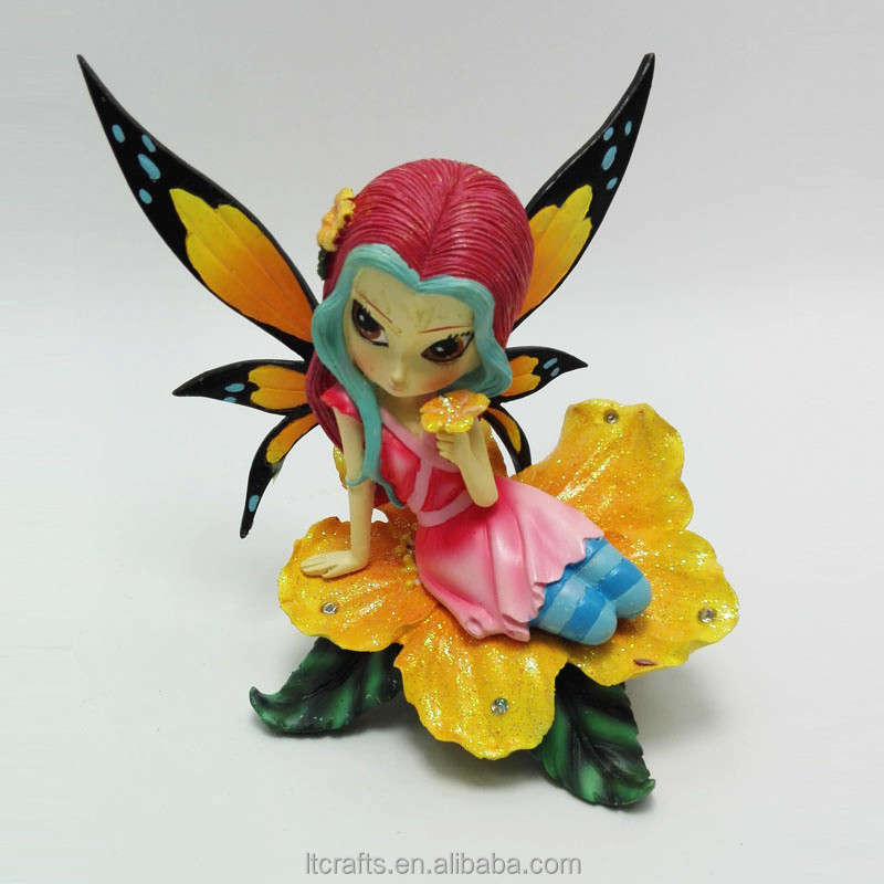 miniature angel figurine crafts Fairy figurines miniature